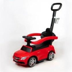 Толокар Mercedes-Benz C63 AMG Coupe (подножка, музыка, ручка для родителей)